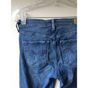 ✨ The Best High Rise Medium Wash Skinny Levi Jeans